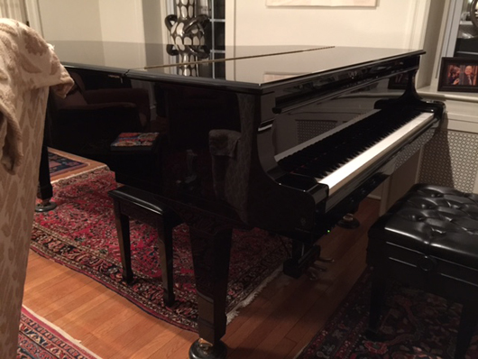 Jimmy Amadie Piano Yamaha C-7